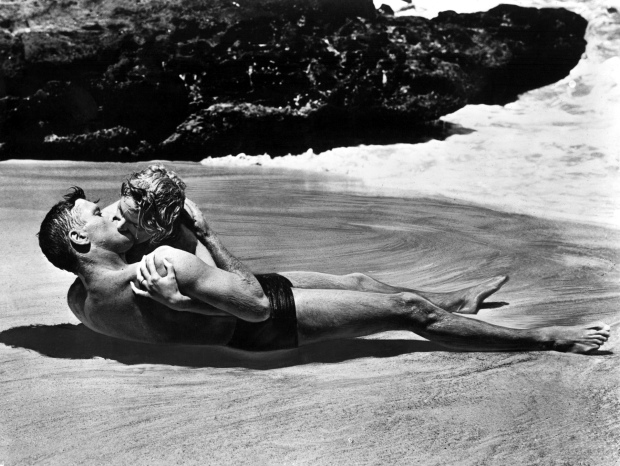 burt lancaster & deborah kerr - from here to eternity 1953