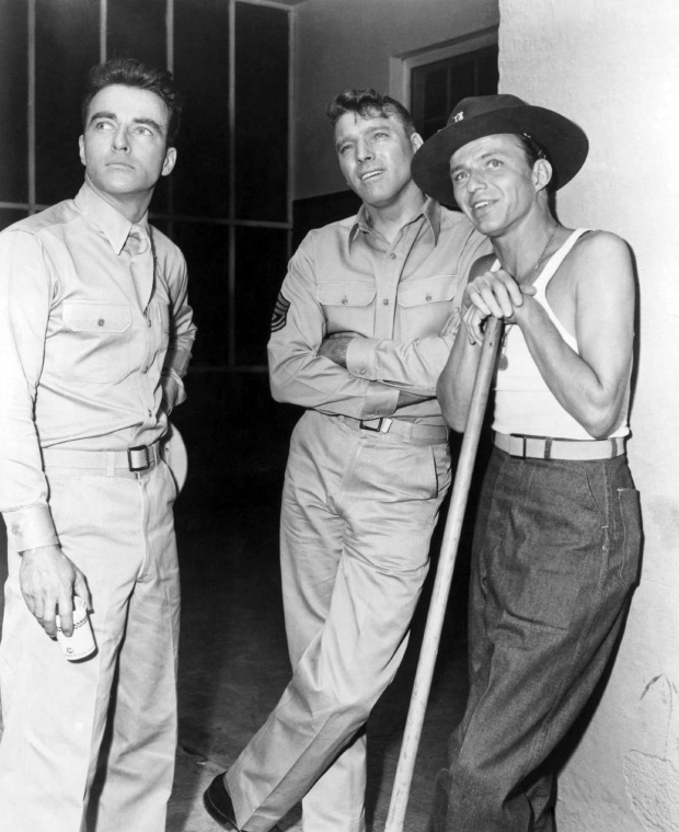 """00/00/1953. Film """"From here to eternity"""" (Tant qu'il y aura des hommes) by Fred Zinnemann"""