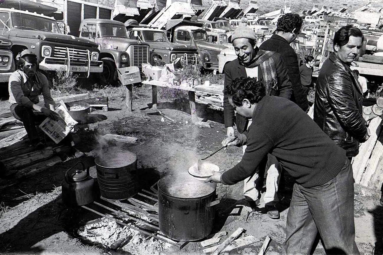 1973, AGOSTO 15.- PARO DE CAMIONEROS