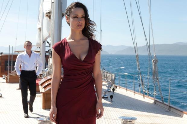 Daniel Craig;Berenice Marlohe