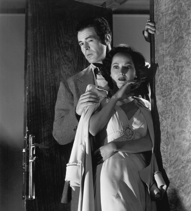 Merle Oberon, Robert Ryan-1948 Berlin Express